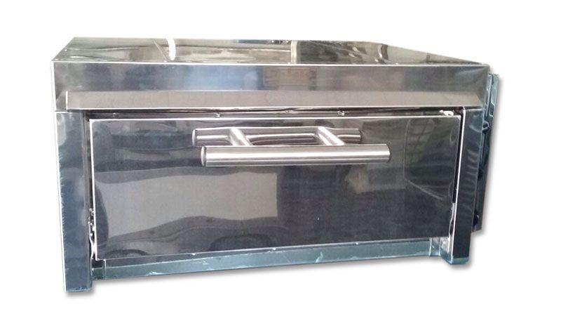 Forno Elétrico Médio Instale - Câmara 18 cm Altura com a base refrataria