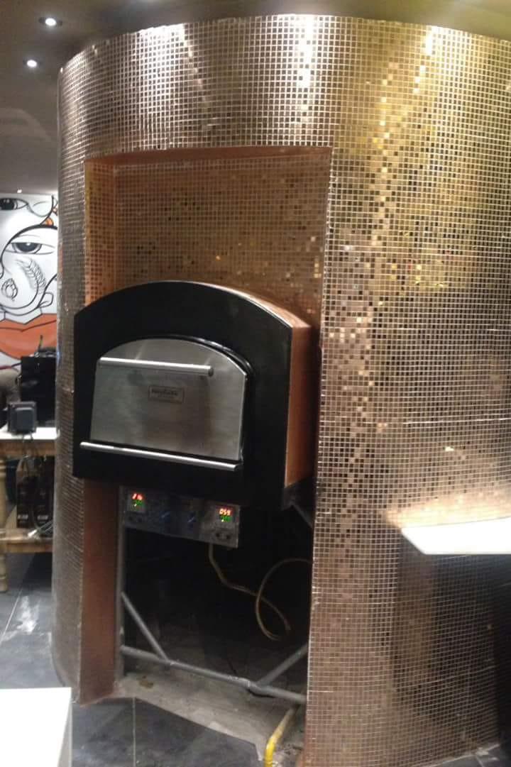 Forno Refratário Instale - Gás/Lenha 800 mm