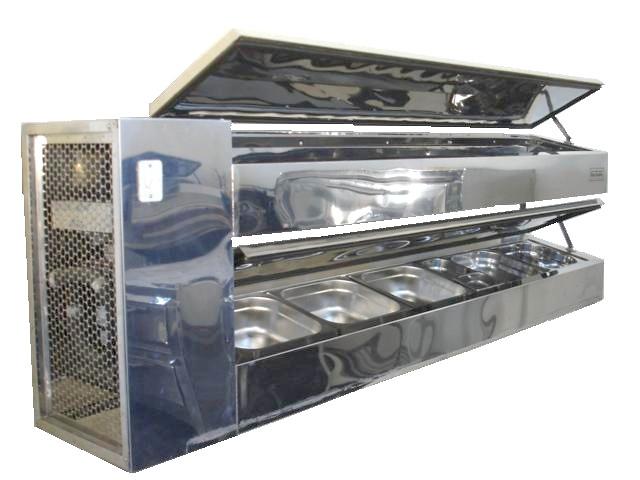 Refrigerador de Cubas 2 Nível