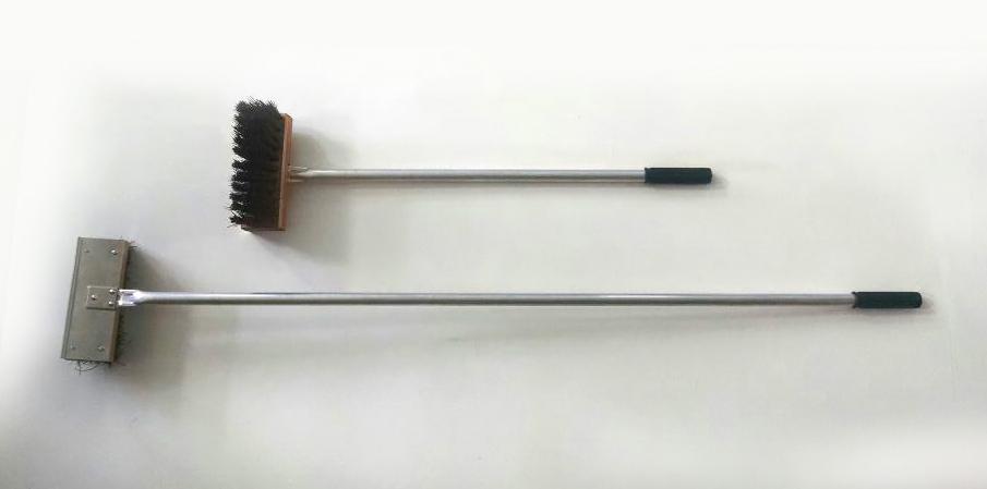 Vassoura Limpar Forno Inoxminas 140 cm com Cb Alumínio