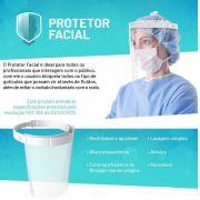 Mascara Protetor Facial Face Shield  0,5mm