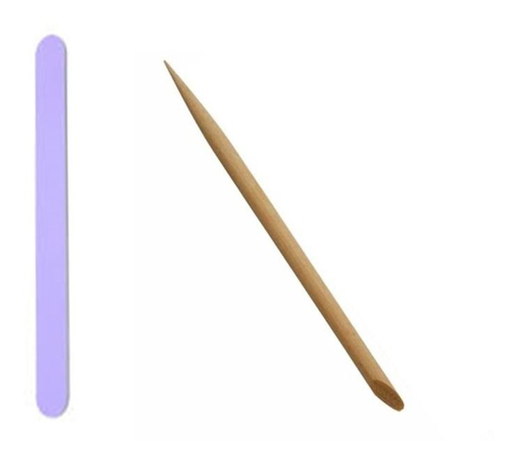 Kits de manicure Premium  Luvas hidratantes +Toalha 30x35 + lixa exportaçao e palito de bambu Balm Argan