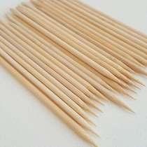 Palitos de Bambu para acabamento das unhas 50 und