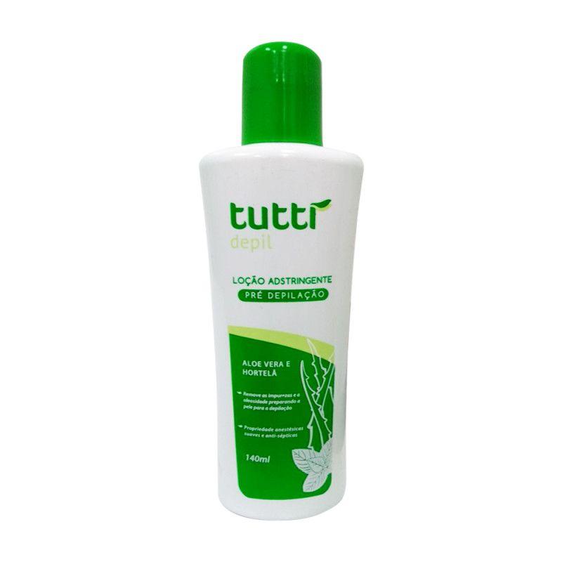 Loção Adstringente Pre Depilação Tutti 140 ml