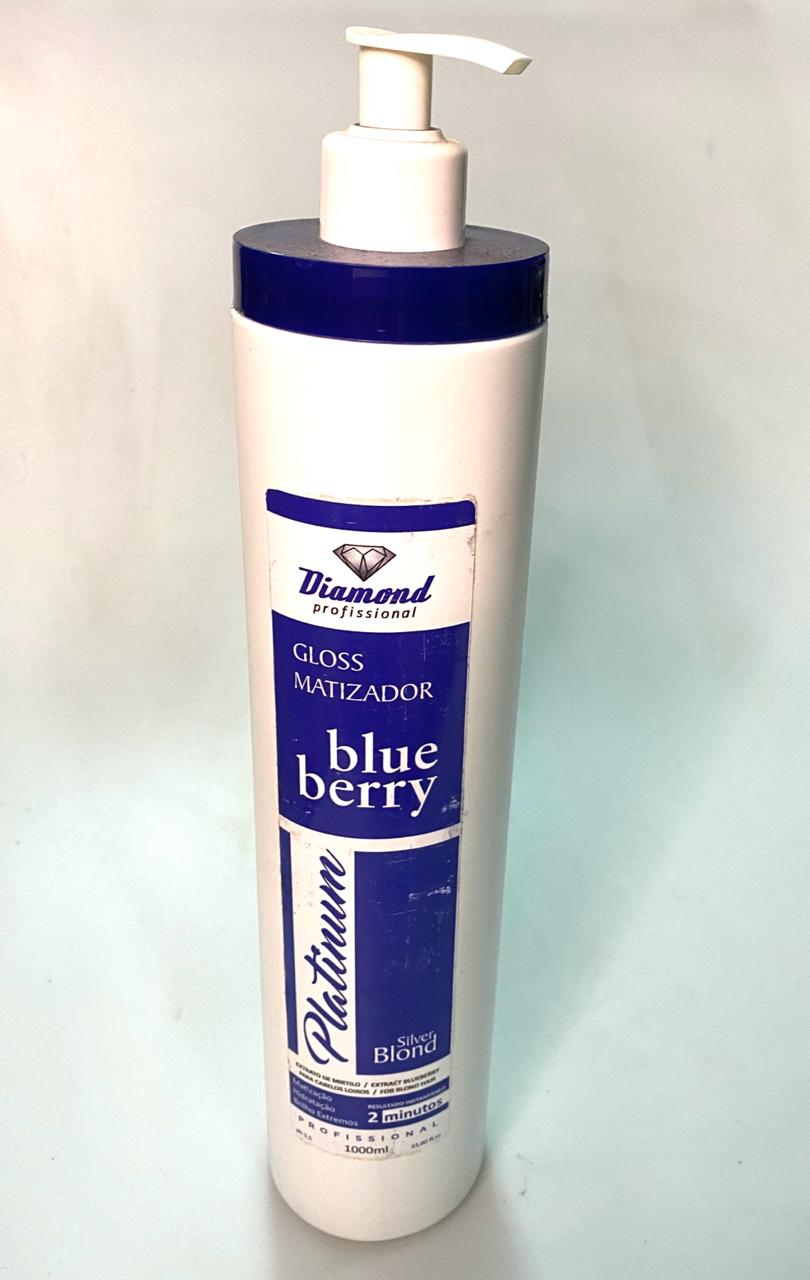 Mascara Matizante de Loiros Diamond Blue Berry - 1 litro
