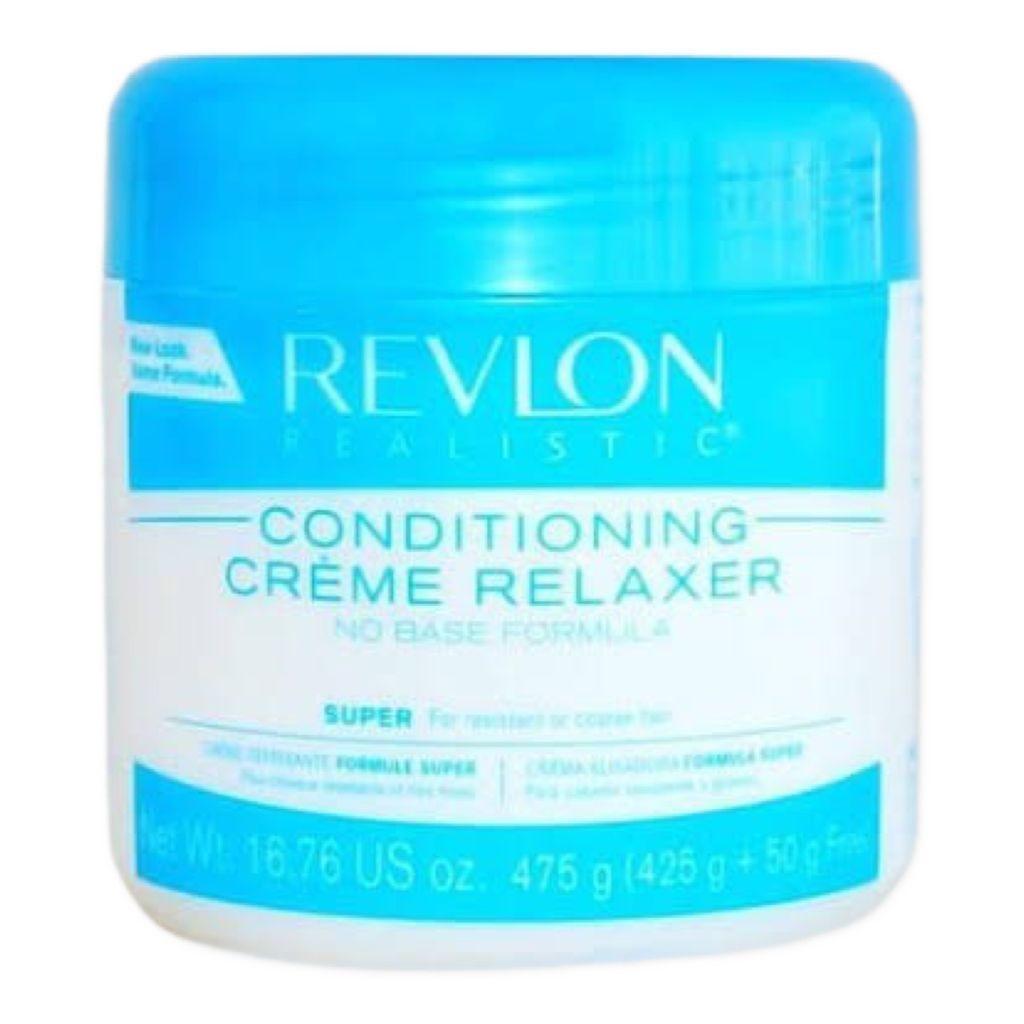 Revlon Realistic Relaxamento Alisamento Hidroxido Sodio Super 470g