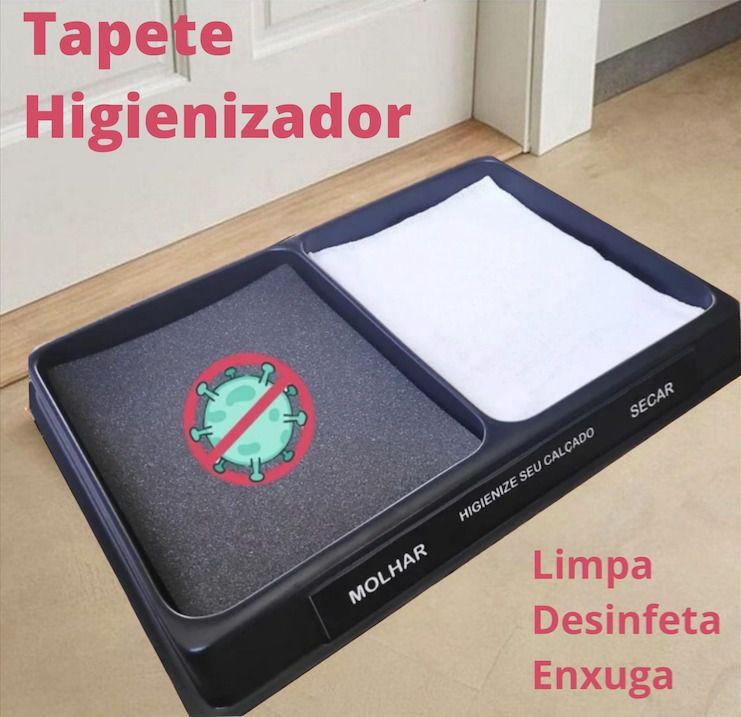 Tapete Higienizador 56cm x 40cm