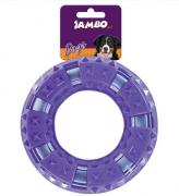Brinquedo para Cachorro Anel Duro Espinho Roxo - Grande