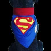 Bandana para Cachorro Super Homem