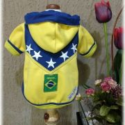 Blusa de Moletom para Cachorro - Brasil