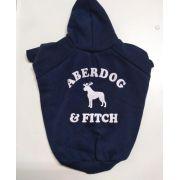 Blusa de Moletom para Cachorro Aberdog Marinho