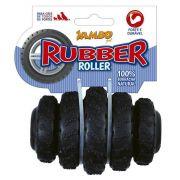 Brinquedo para Cachorro  Jambo Rubber Roller Preto