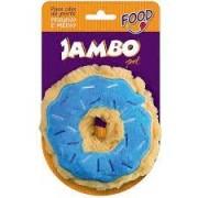 Mordedor Pelúcia Food Donut - Pequeno e Grande - Várias Cores