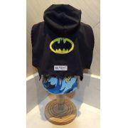Fantasia para Cachorro Camisa Batman c/Capa