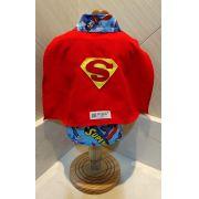 Fantasia para Cachorro Camisa Superman c\ Capa