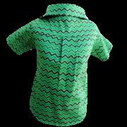 Camisa Chevron Verde - Natal