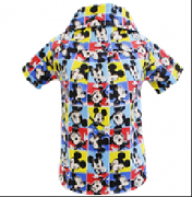 Camisa Mickey Quadrado