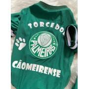 Camiseta para Cachorro Cãomeirense - Palmeiras