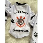 Camiseta para Cachorro Cãorinthiano - Corinthians