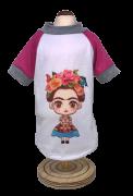 Camiseta Frida - Rosa