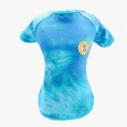 Camiseta UV Tie Dye Azul