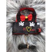 Coleira Peitoral para Cachorro Mickey Mouse