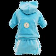 Conjunto Esporte Plush Azul Caribe