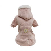 Blusa De Moletom para Cachorro Tweed Rosa