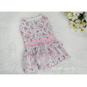 Vestido Peitoral Floral - Varias Cores