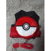 Peitoral Mochila Pokebola (Pokemon) - ( PP )