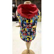 Camisa Regata Mickey  com touca