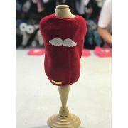 Roupa De Plush- Vermelha Angel