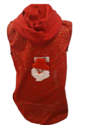 Regata para Cachorro Papai Noel Patch - Natal