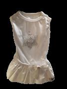 Vestido Branco com Estrela Ano Novo