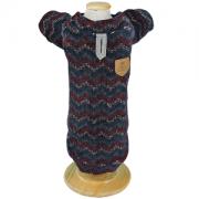 Suéter para Cachorro Chevron Vermelho