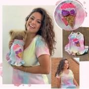 T-Shirt Tie Dye Candy- Tal mãe