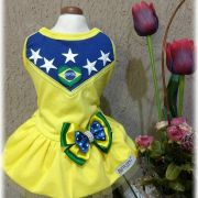 Vestido para Cachorro - Brasil