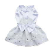 Vestido Coração Branco
