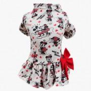 Vestido Minnie Cinza