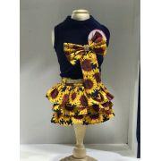 Vestido Saia Girassol