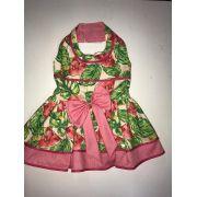 Vestido Melancias Rosa