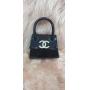 Mini Bolsa Chanel Preta para Cachorro