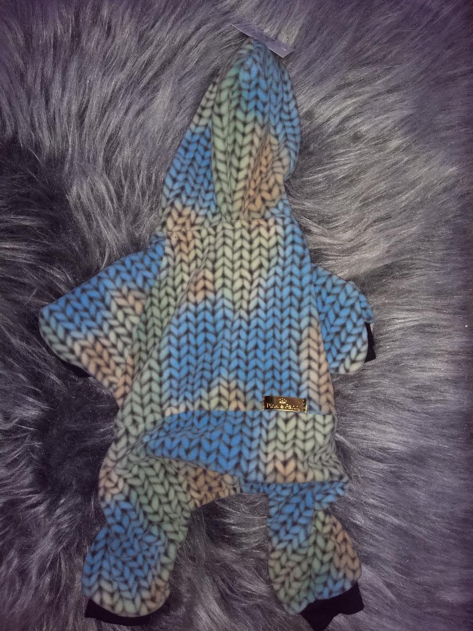 Agasalho Soft Com Touca Azul