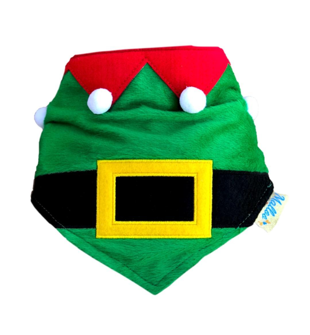 Bandana para Cachorro Ajudante de Papai Noel - Natal