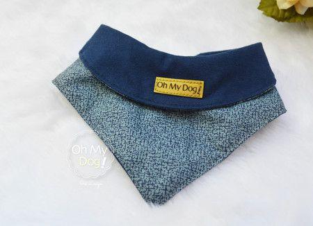 Bandana para Cachorro OMD Azul