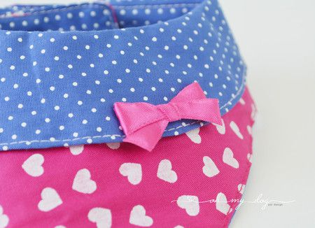 Bandana para Cachorro Pink Lola