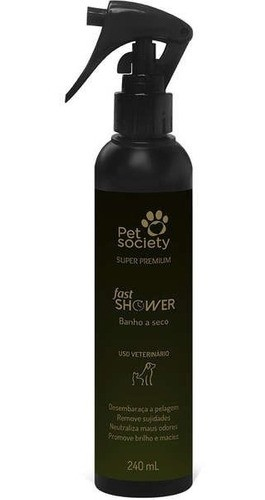 Banho a Seco Fast Shower Pet Society