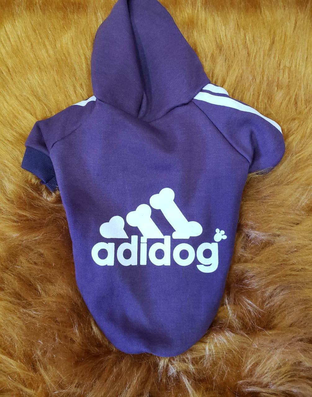Blusa De Moletom Adidog- Roxo