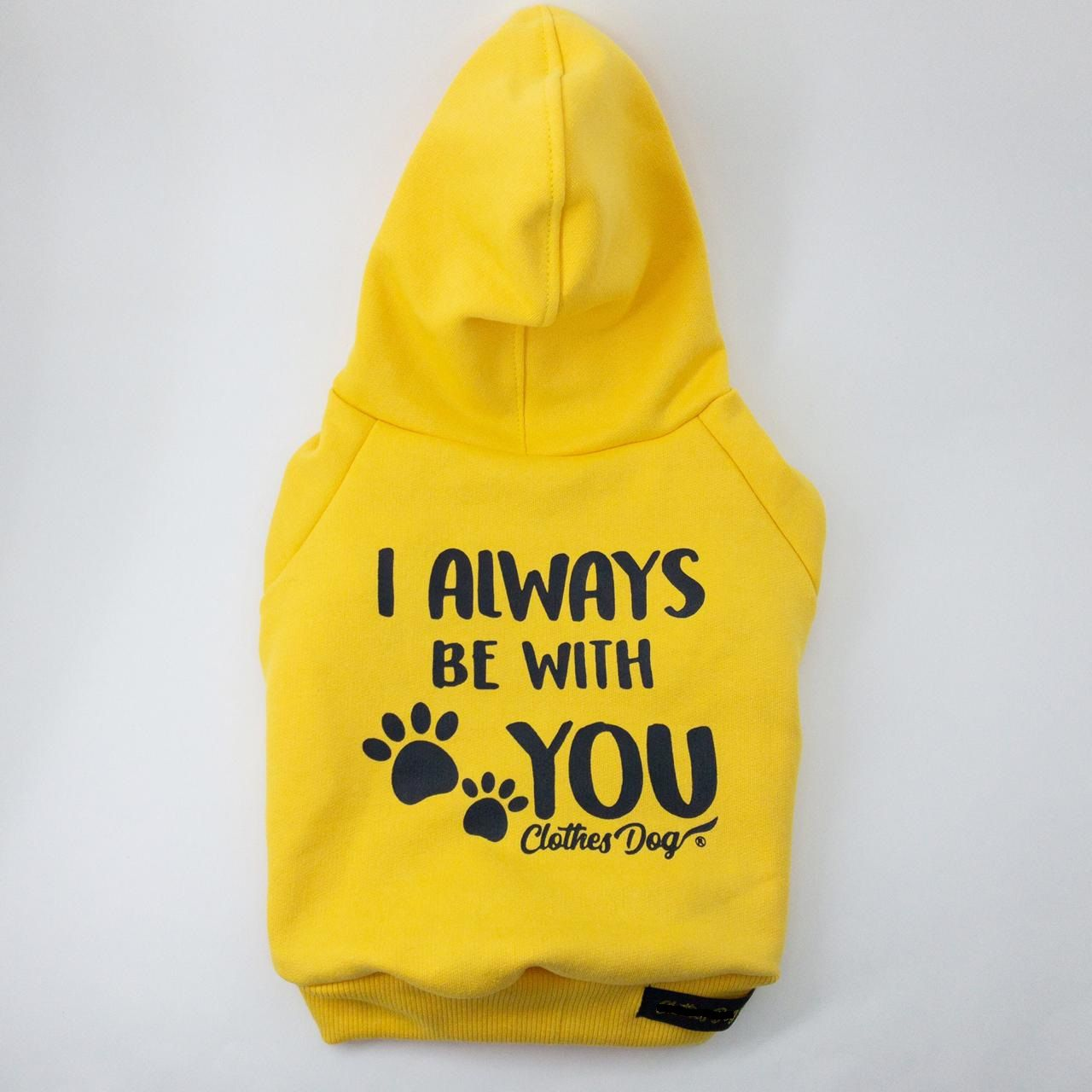 Blusa de Moletom Always- Amarelo