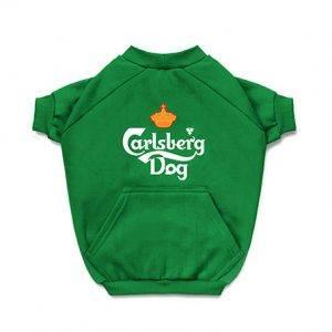 Blusa de Moletom para Cachorro Carlsberg